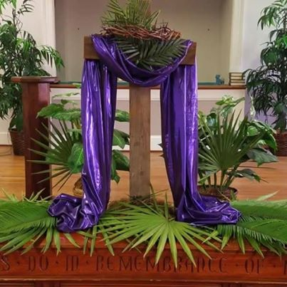 Come join us today for Palm Sunday here at Brentwood